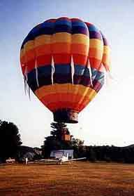 Balloon takes off in nearby Post Mills