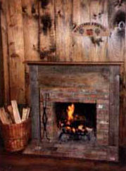 Three of the Cottages have Wood-Burning Fireplaces